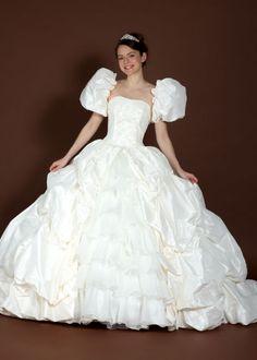 ジゼル | ウエディングドレスの格安オーダー販売 | ☆天使の工房アトリエアンatelier ange Cute Wedding Dress, One Shoulder Wedding Dress, Wedding Dresses, Barbie Collection, Dress Collection, Victorian, Fashion, Bride Dresses, Moda