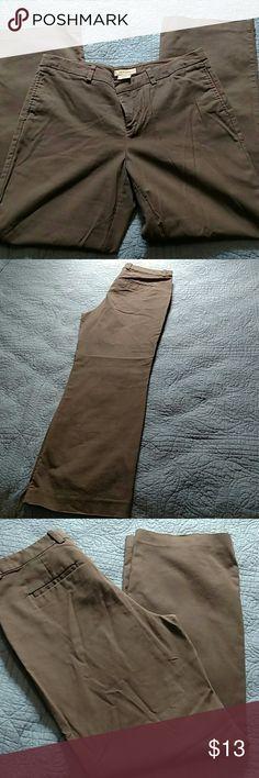 Gray Merona Khaki Pants 12 Comfortable grey Merona dress Khakis from Target. Good condition. Merona Pants