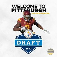 0b6588973 The pick of the chosen by the the Pittsburgh Steelers JuJu Smith-Schuster!