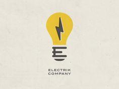 Electrik Company Logo Retro by Brian Simpson for Electrik Company