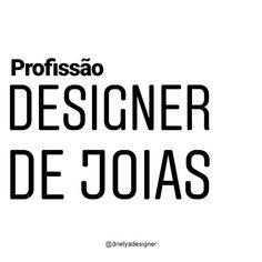 Profissão Designer de Joias #designerdejoias #designdejoias