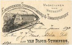 Van Dijck-Stumpers. Eindhovensche Stoomhoutzagerij & Timmerfabriek