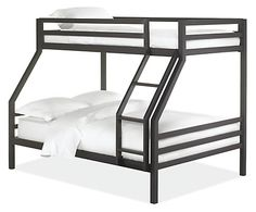 Fort Kids' Steel Duo Bunk Bed - Modern Bunk Beds & Loft Beds - Modern Kids Furniture - Room & Board
