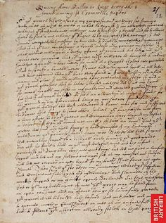 Anne Boleyn's letter to Henry VIII? Page 1 by That Boleyn Girl, via Flickr