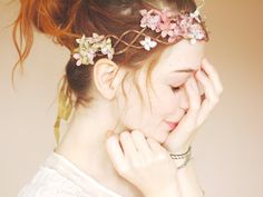 Gorgeous Flower Crown.