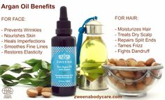 Benefits of Argan Oil for Face and Hair