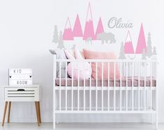 This item is unavailable | Etsy Baby Room Decals, Name Wall Decals, Stair Stickers, Wall Stickers, Gold Nursery Decor, Wall Decor, Modern Wall Decals, Star Ceiling, Single Bedroom