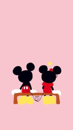 Mickey and Minnie. i LOVE mickey and minnie! Retro Disney, Art Disney, Disney Kunst, Disney Magic, Mickey E Minnie Mouse, Disney Mickey, Disney Pixar, Disney Characters, Disney Duck