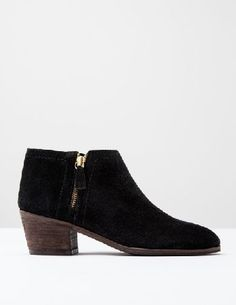 Boden Zip Low Heel Boot Black Suede Women Boden, Black Low heel: tick. Handy side-zip detailing: tick. Chic patterns: double tick. These just-below-the-ankle boots are as eye-catching as they are comfortable. Pair with a floaty dress for a city-ready take http://www.MightGet.com/january-2017-13/boden-zip-low-heel-boot-black-suede-women-boden-black.asp