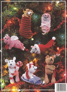 Crochet Christmas Ornament Crochet Patterns