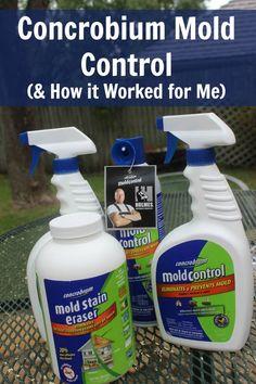 Using Concrobium Mold Control at ASlobComesClean.com