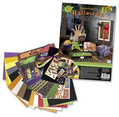 Mit dem Basteltrend Halloween nehmen wir ein neues Set in unseren Bestand mit auf. Mehr auf www.folia.de