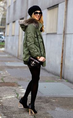 City Chic. Layered up and looking good running around the city.
