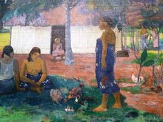 Gauguin y el enigmático Why Are You Angry?, Chicago Art Institute