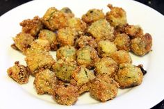 Picture of Perfect Fried Okra Recipe.  I found good-looking okra at the farmer's market today.  Guess what's for dinner?