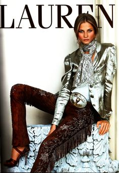 Classic Ralph Lauren shoot for spring summer 2011 | lifestyle | create a movie | fringing | outback American style