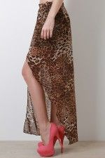 Wild Summer Maxi Skirt #urbanog #contest