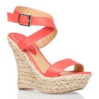 Cute coral sandal