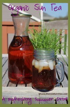 Organic Sun and Moon Tea Recipe | WholeLifestyleNutrition.com
