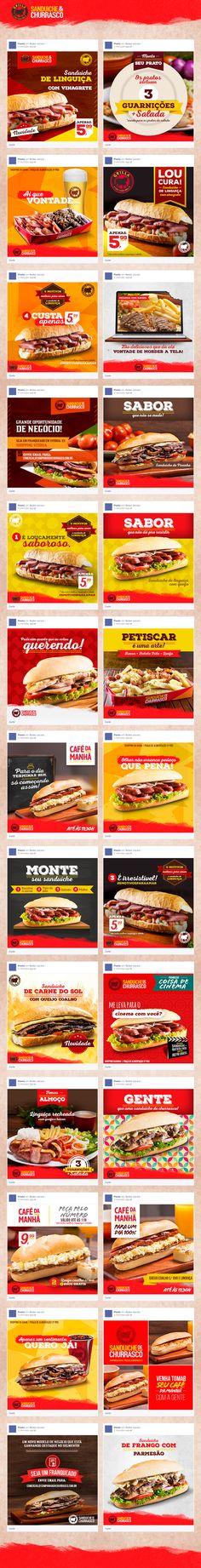 criaa a o de pea as para as redes sociais do restaurante grilla sandua ches de churrasco