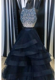 Blue Prom Dresses,Sequin and Beading Prom Dress,New Prom Dresses,Long Formal Gown,Charming Prom Dress,Cheap Prom Dress,2017 Prom Dress,PD00343