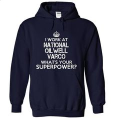 Work at National Oilwell Varco Superpower Tee - #custom hoodies #cool t shirts for men. CHECK PRICE => https://www.sunfrog.com/Funny/Work-at-National-Oilwell-Varco-Superpower-Tee-9265-NavyBlue-Hoodie.html?60505