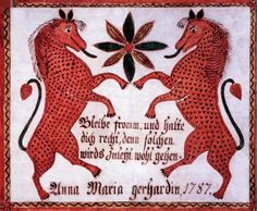 """Phillip & Anna Maria (Gilbert) Hoy    """"Mark the blameless man, and behold the upright,  for there is posterity for the man of peace""""  """"Anna Maria gergardin, 1787  A Psalm of David  Psalm 37:37"""