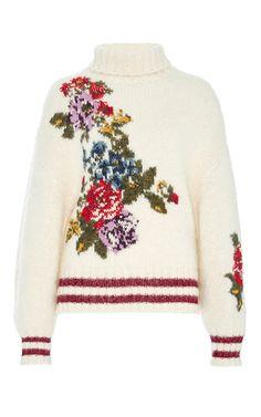 Flower Sweater by LEUR LOGETTE for Preorder on Moda Operandi