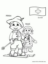 Switzerland Map World Thinking Day Flag Coloring Pages, Preschool Coloring Pages, Free Coloring Sheets, Free Printable Coloring Pages, Coloring Pages For Kids, Kids Coloring, Coloring Book, Colouring, Around The World Theme