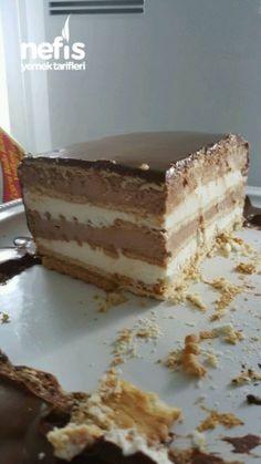 Petibörlü Mousse Pasta (Dondurma Pastada Diyebiliriz) – Nefis Yemek Tarifleri Mousse Pie with PIPROAD (We Can Say in Ice Cream Cake)