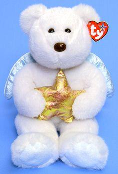Star (gold) - Bear - Ty Beanie Buddies Beanie Baby Bears 9204399e5113