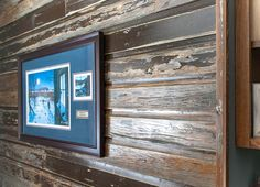 We are your Twin Cities custom carpenters! Over 50 years of MN craftsmanship and expertise! Reclaimed Wood Accent Wall, Wood Wall, Lake Resort, Twin Cities, Cabins, Home Remodeling, Seal, Layers, Colors