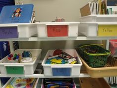 Managing learning centers