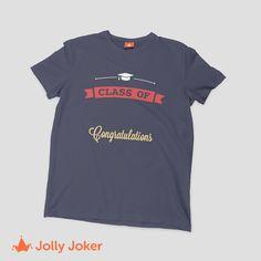 El año más importante ¡Tu graduación! Diseña y ordena camisetas  personalizadas de tu grado de la U! Haz de este día aun más especial 8d705644d1803