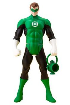 DC Comics Green Lantern Classic Costume ArtFX Statue - Kotobukiya s ArtFX lineup of DC Comic Super Heroes based on the classic Super Powers line of the 1980 s continues with Green Lantern.