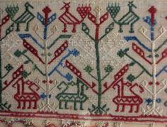 Benaki Museum, Some Image, Crete, Islamic Art, Athens, Textile Design, Needlepoint, Folk Art, Bohemian Rug