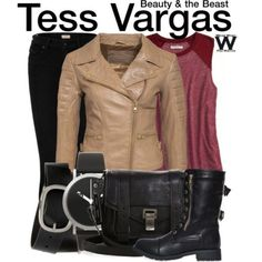 Inspired by Nina Lisandrello as Tess Vargas on Beauty and the Beast - Shopping info!