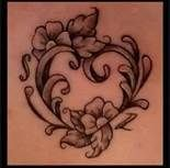 Love Traditional style tattoos