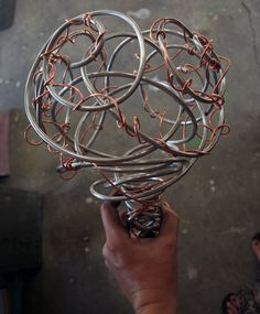 Metal Wedding Bouquet for the Steampunk Bride