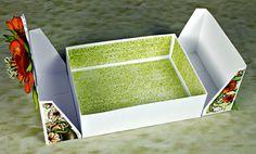 A2 Split Top Box Open