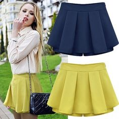 Gender: Women Waistline: Natural Pattern Type: Solid Style: Fashion Material: Polyester Dresses Length: Above Knee, Mini Silhouette: A-Line Fabric Type: Satin Color Style: Natural Color School Fashion, Diy Fashion, Autumn Fashion, Fashion Dresses, Womens Fashion, Fashion Shorts, Style Fashion, Elegant Woman, Skirt Pants