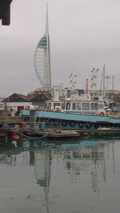 Old Portsmouth Portsmouth, Sailing Ships, Paris Skyline, Boat, Graphics, Travel, Art, Voyage, Dinghy