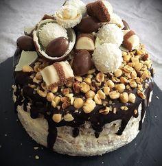 Recept: Cukormentes csokis-kókuszos, zabpehelylisztes ünnepi torta | Stop Sugar