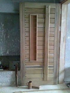 Single Door Design, Wooden Front Door Design, Main Entrance Door Design, Double Door Design, Door Gate Design, Entrance Doors, The Doors, Pooja Room Door Design, Door Design Interior