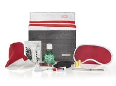 """AA American Airlines Heritage Amenity Kit """"TWA"""" Limited Edition New SEALED"""