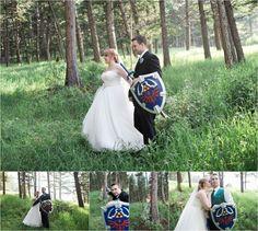legend of zelda wedding, video game wedding, carrie swails photography, pines at genesee, denver wedding, colorado wedding, bride and groom