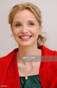 Julie Delpy during Before Sunset Press Conference with Ethan Hawke,... Show more