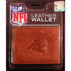 Carolina Panthers NFL Manmade Leather Billfold