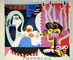 Carátulas de música Frontal de Elvis Costello And The Attractions - Imperial Bedroom. Portada cover Frontal de Elvis Costello And The Attractions - Imperial Bedroom Elvis Costello, Lp Cover, Cover Art, Lps, Lp Vinyl, Vinyl Records, Vinyl Art, Vinyl Music, Cool Album Covers