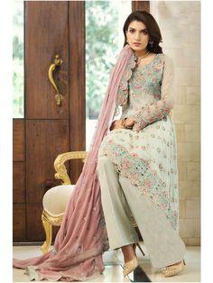 21d17fa5d21 Indian Designer Party Wear Embroidered Georgette Salwar Kameez suit Girls  Women  Handmade  KurtasKurti Pakistani